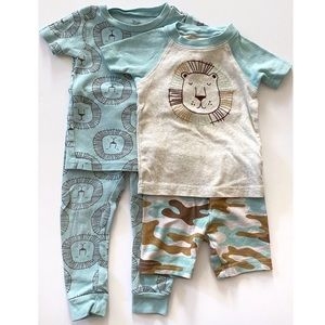 🦁Just One You Lion Pajama Set Size 18 Months
